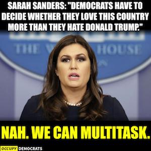 Sarah Sanders funnie